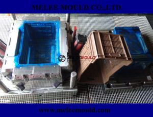 Brown Delivery Plastic Crate Mold pictures & photos