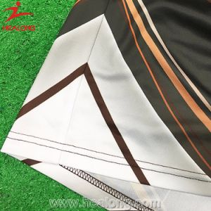 Healong 100% Polyester Full Sublimation Polo Shirt pictures & photos