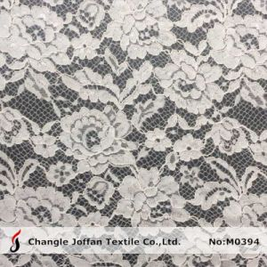 Wholesale Cord Embroidery Lace Fabric for Wedding Dresses (M0394) pictures & photos