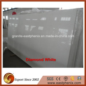 Good Quality Artificial Diamond White Slab pictures & photos