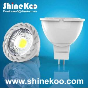 Aluminium MR16 3 W COB LED Spotlight (SUN10-COB-MR16-3W-F) pictures & photos