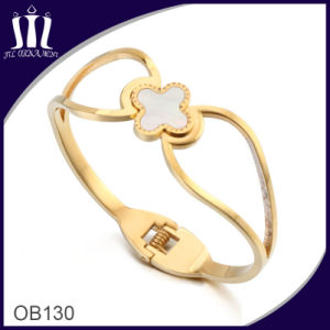 Streamline Design Four Leaf Clover Set Bracelet Ob130 pictures & photos