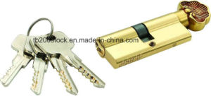 High Security Double Pins Groove Key Cylinder (C3370-161BP -221BP) pictures & photos