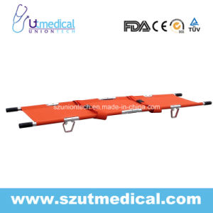 Ydc-1A9 Aluminum Alloy Foldaway Stretcher, Hot Selling 2-Fold Stretcher