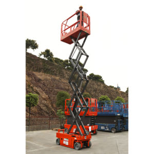 Ce Certified Hot Sale Man Scissor Lift for Sale