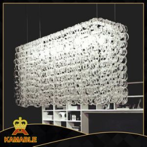 Restaurant Decorative Clear Glass Hanging Lamp (KA763S5) pictures & photos