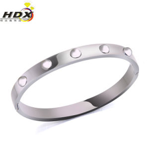 Fashion Jewelry Stainless Steel Rivet Bracelet pictures & photos