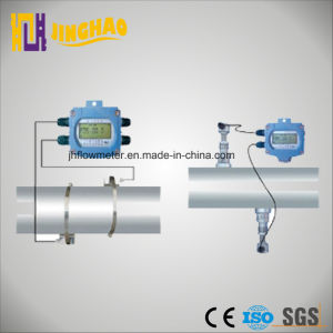 Wall-Mounted Ultrasonic Flowmeter with Clamp on Sensor (JH-TDS-100F) pictures & photos