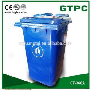 Gt-360A HDPE Wheelie Waste Bin pictures & photos