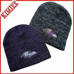 Winter Fashion Marled Knitted Hat pictures & photos