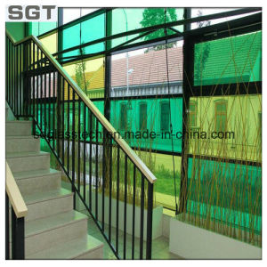 4mm-19mm Tinted & Reflective Glass Clear Float Glass for Curtain Wall pictures & photos