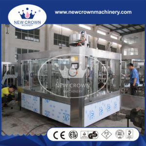 3 in 1 Monoblock SUS304 Big Bottle Water Filling Machine with 6000bph Speed pictures & photos