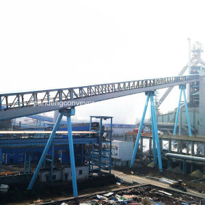 Rubber Belt Conveyor / Troughed Belt Conveyor / China Conveyor System Manufacturer pictures & photos