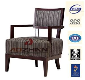 Fabric Beech Wood Best Price Hotel Armchair Restaurant Chair