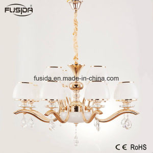 Luxury Modern Bronze Brass Glass Pendant Light Glass Copper Chandelier Light pictures & photos