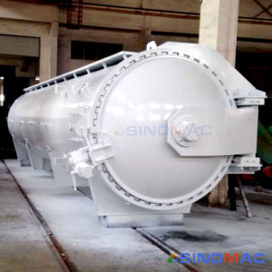 1500X7500mm Ce Approved Resin Matrix Curing Autoclave (SN-CGF1575) pictures & photos
