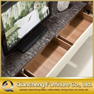 Hot Sale TV Cabinet with MDF Drawer for Home (8627#) pictures & photos