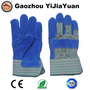 Anti-Cutting Leather Safety Protective Labor Work Gloves pictures & photos