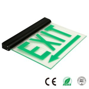 Hanging Maintained Emergency LED Acrylic Exit Sign pictures & photos