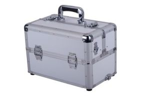 Custom Easy Carrying Aluminum Trolley Tool Case with Custom Foam Insert pictures & photos
