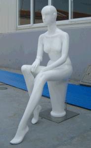 Fiberglass Mannequin Women Sit Posture pictures & photos