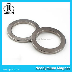Differnet Size Rare Earth Neodymium Ring Magnets