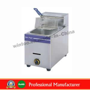 Commercial Desktop Gas Deep Fryer for 2015 Top-Rated Sale pictures & photos