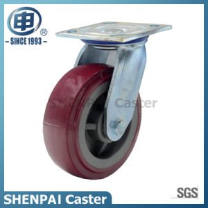 5 Inch Polyurethane Swivel Castor Wheel pictures & photos