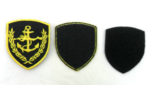 Custom Embroidery Clothing Hook & Loop Patch pictures & photos