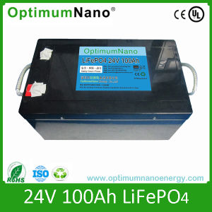 Wholesale Solar Power System LiFePO4 Battery 24V 100ah pictures & photos