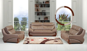 New Design Living Room Furniture / Luxury Leather Sofa Sets 525 pictures & photos