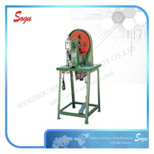 Punching of Single Holes on Shoe Uppers Machine pictures & photos