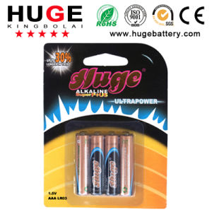 1.5V Super AAA Size Dry Battery Lr03 Alkaline Battery (LR03) pictures & photos