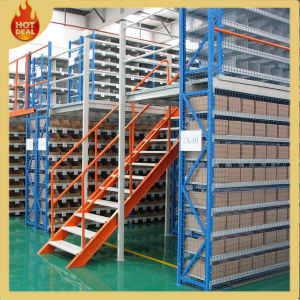 Heavy Duty Metal Adjustable Mezzanine Storage Rack pictures & photos