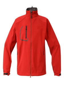 2016 Men Red Colour Waterproof Breathable Windproof Softshell Jacket pictures & photos