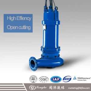 Sewage Submersible Water Pump for Municipal Works, Buildings, Industrial Sewage pictures & photos