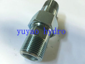 Hydraulic Connector Fitting of Bsp 60 Deg Adapter pictures & photos