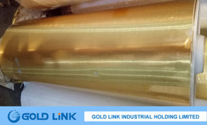 Gold Aluminum Foil Paper Jumbo Roll pictures & photos