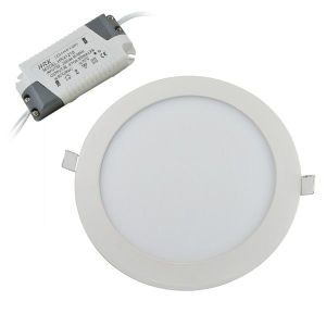 Energy Saving Round LED Panel Lights 15 Watt SMD2835 Aluminum Alloy