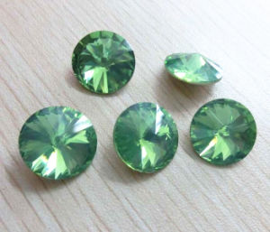 Wholesale Top Quality Pacific Opal Rivoli Crystal Fancy Stone pictures & photos