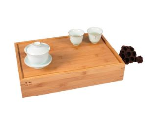 Bamboo Tea Storage Drawer Box pictures & photos