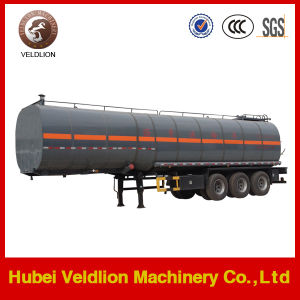 3 Axles 35000L Fuel Trailer pictures & photos