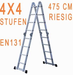 4, 7 Metre Multifunctional Ladder Folding Aluminum Angle Multi-Use pictures & photos