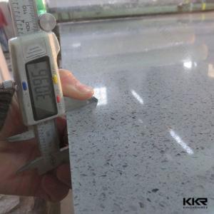 Kingkonree Wholesale Grey Artificial Quartz Stone Tile pictures & photos