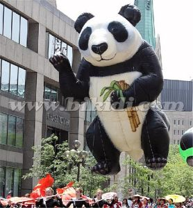 Giant 8m Flying Panda Balloon, Helium Panda Inflatable K7149 pictures & photos
