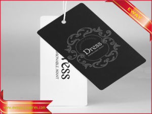 Dress Logo Hang Tag Printed Hangtag for Clothing pictures & photos