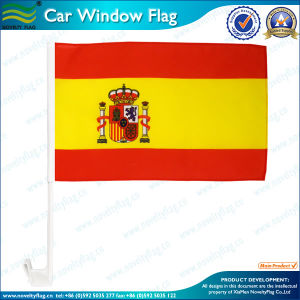Spain Spanish National Car Window Flag (T-NF08F01046) pictures & photos