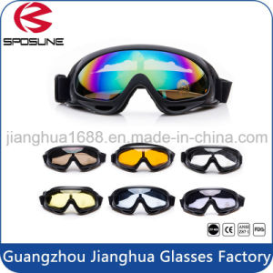 Dropshipping TPU Frame Driving Skiing Night Vision Goggles Anti UV400 Eye Protection Outdoor Safety Goggles pictures & photos