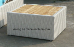 New Design Hotel Rattan Outdoor Furniture Single Sun Bed Chaise Lounger (YTF552-1) pictures & photos