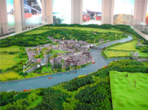 High Quality ABS Zone Planning Models/Building Model